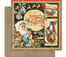 Christmas Time 8x8 Inch Paper Pad