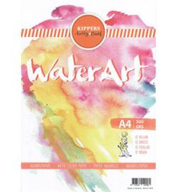 Aquarel Papier 12 sheets
