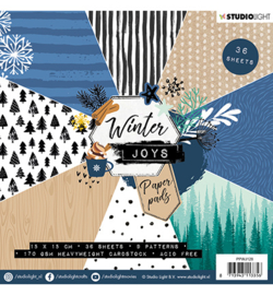 Paper Pad, Winter Joys nr.128