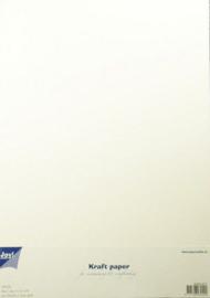 Kraftpapier Wit A4 20vl 300gram