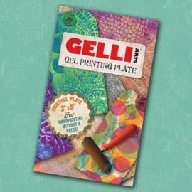 Gel Printing Plate 7.6x12.7cm GEL3X5