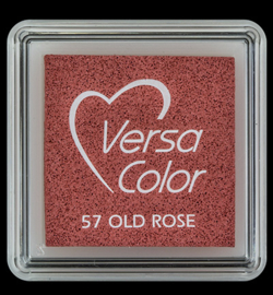 VersaColor mini Inkpad-Old Rose