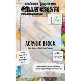 A6 Acrylic Block