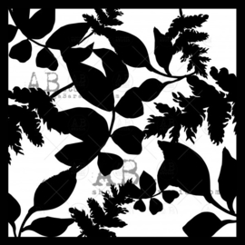 copy of Stencil leaves