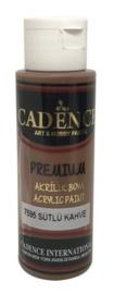 Premium acrylverf (semi mat) Melkbruin
