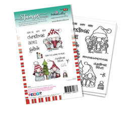 Christmas Fishes Clear Stamps