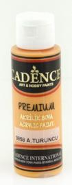 Premium acrylverf (semi mat) Lichtoranje