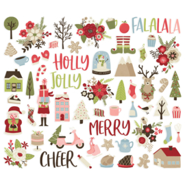 Holly Jolly Bits & Pieces - Unit of 3