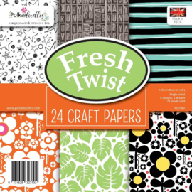 Fresh Twist 6x6 Inch Paper Pack