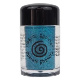 Cosmic Shimmer sparkle shaker blue silk