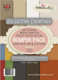 Die-Cutting Essentials Bumper A5 Paper Pack