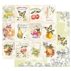 FRUIT PARADISE COLLECTION 12×12 SHEET – FRUIT LOVER