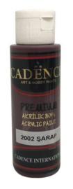 Premium acrylverf (semi mat) Wijnrood