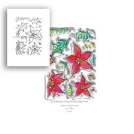 Perfect Poinsettias Clear Stamps