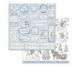Winter Tales Tags & Frames 12x12 Inch Paper Sheets