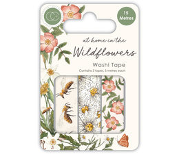 At Home in the Wildflowers Washi Tape