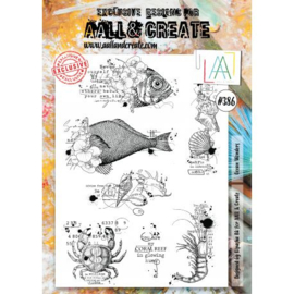 386 - A4 STAMPS