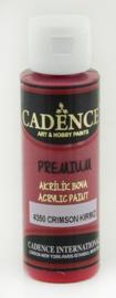 Premium acrylverf (semi mat) Crimson - rood