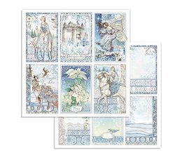 Winter Tales Cards 12x12 Inch Paper Sheets