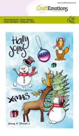 clearstamps A6 - Snowy & friends 2 Carla Creaties