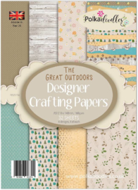 Great Outdoors A5 Paper Pack
