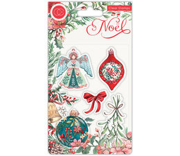 Craft Consortium Noel Clear Stamps Decorations