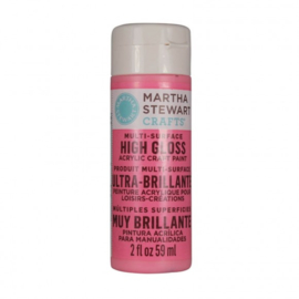Martha Stewart • gloss paint 59ml camellia pink