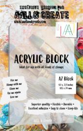 A7 ACRYLIC BLOCK