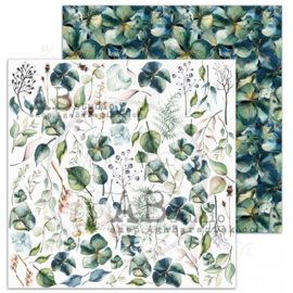 """Scrapbooking paper """"The Versailles""""- sheet 4 - Lucky to be - 12'x12'"""