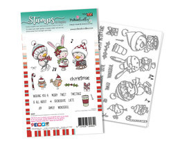 Christmas Tweetings Clear Stamps