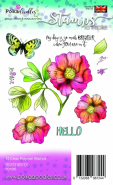 Brighter with You Clear Stamps