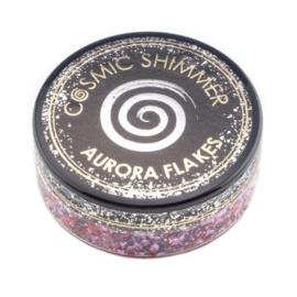 Cosmic shimmer aurora flakes Blissful berry