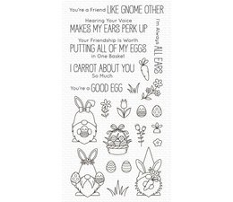 Spring Gnomes Clear Stamps