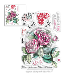 Love & Kisses Clear Stamps