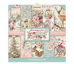 Pink Christmas 12x12 Inch Paper Pack