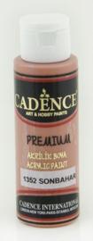 Premium acrylverf (semi mat) Autumn bruin