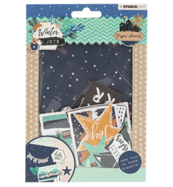 Die Cut Paper Set Winter Joys nr.657