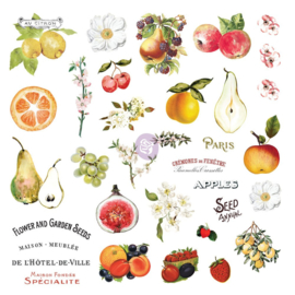 FRUIT PARADISE COLLECTION EPHEMERA WITH STICKERS