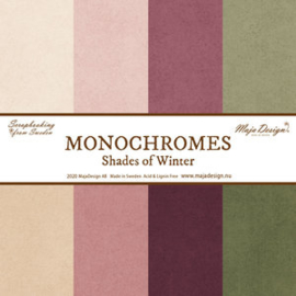 Monochromes - Shades of Winter - Entire collection