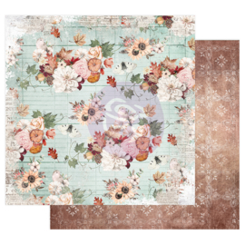 PUMPKIN & SPICE COLLECTION 12×12 SHEET – FALL FLOWERS