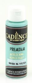 Premium acrylverf (semi mat) Muntgroen