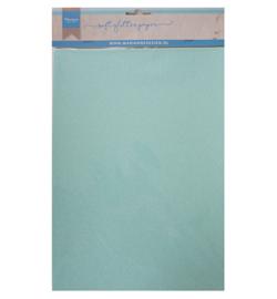Soft Glitter paper - Mint