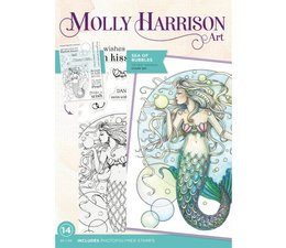Molly Harrison Sea of Bubbles Clear Stamps