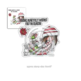 Winnie Heartfelt Wishes Clear Stamps