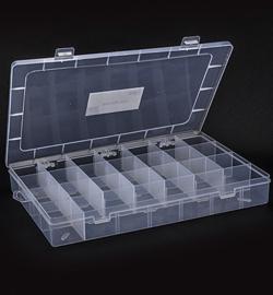 Opberg box met vakverdeling