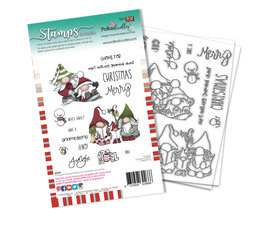 Gnomeazing Christmas Clear Stamps