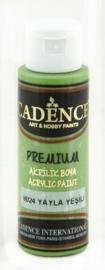 Premium acrylverf (semi mat) Plateau groen