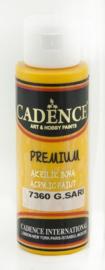 Premium acrylverf (semi mat) Zonnegeel
