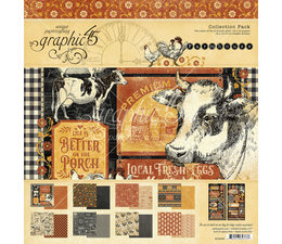 Farmhouse 12x12 Inch Collection Pack