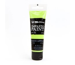 Finnabair Art Alchemy Impasto Paint Green Apple